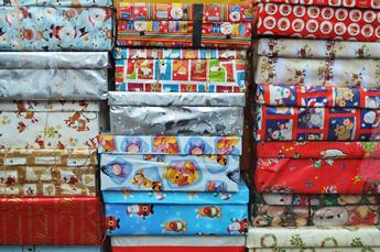 Karácsonyi csomagolás előtt