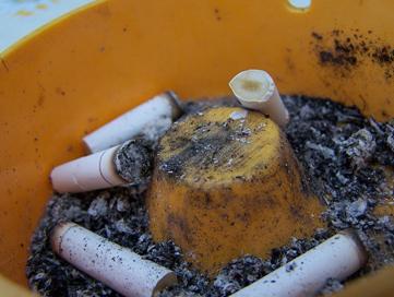 Dohányosok fogyni?, Élettelen bőr