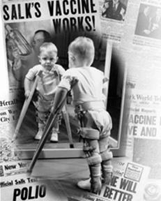 Poliomyelitis (járványos gyermekbénulás)